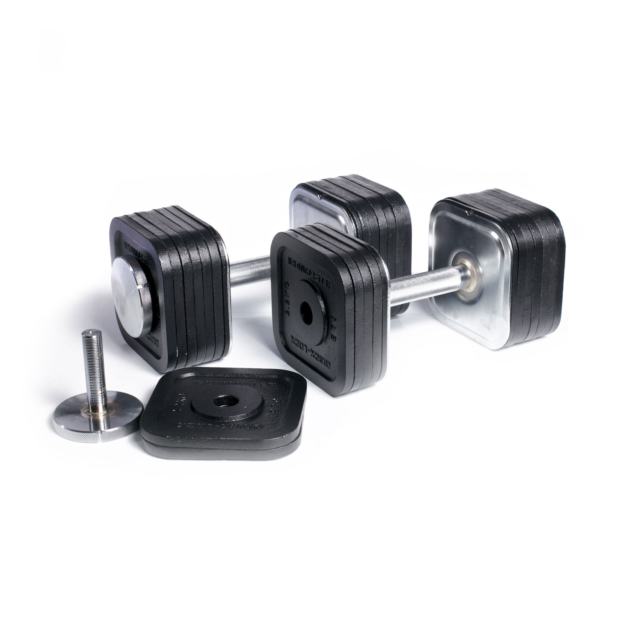 IronamsterUK Quick-Lock Dumbbells