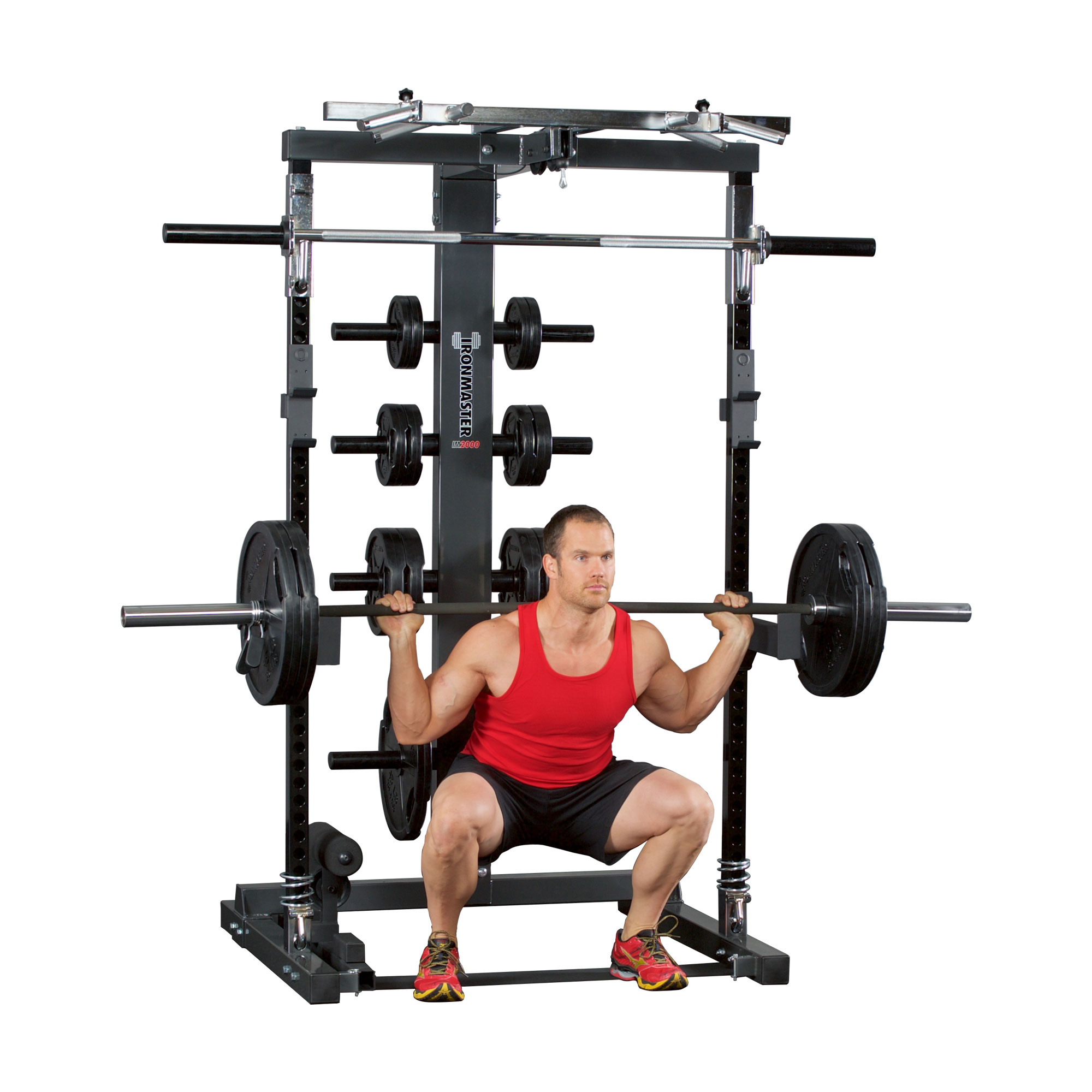 IronmasterUK IM2000 squat position