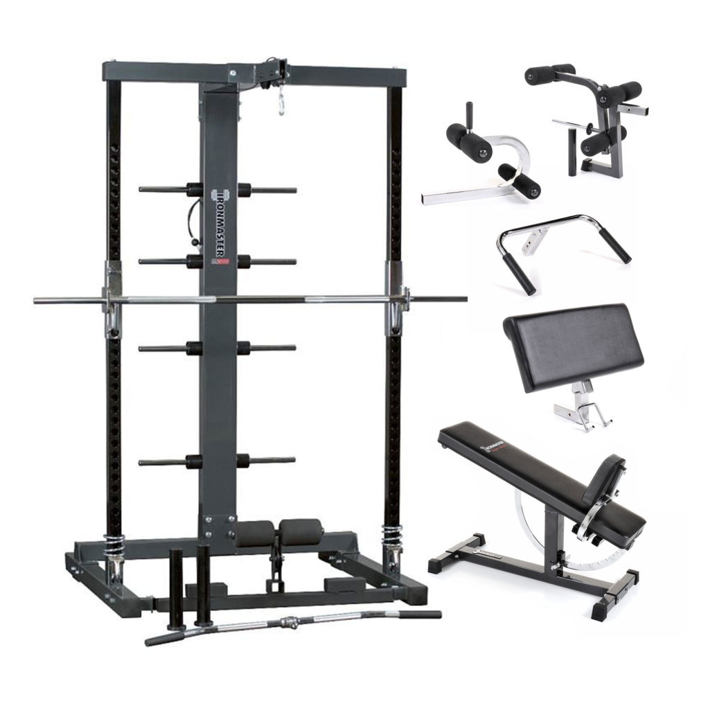 Im2000 Package 3 The Ultimate Home Gym Ironmaster Uk