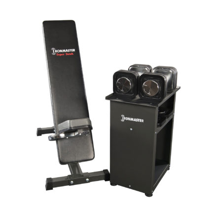 IronmasterUK_Super_Bench_and_Dumbbell_and_stand