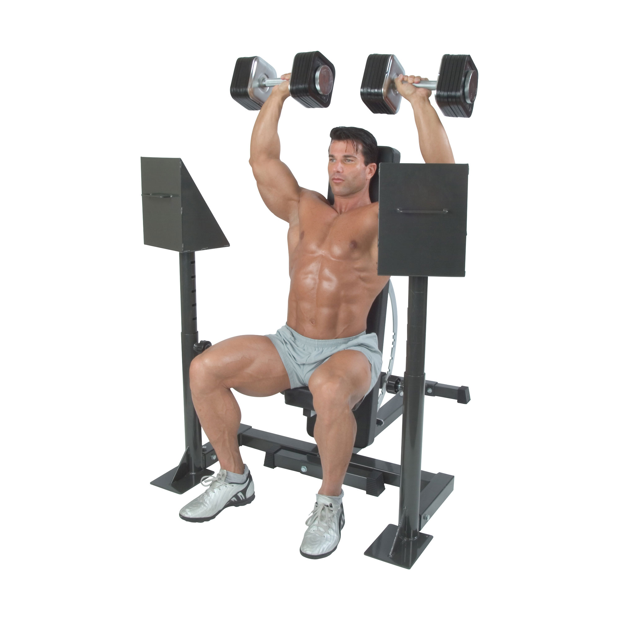 IronmasterUK Spotting stand shoulder press