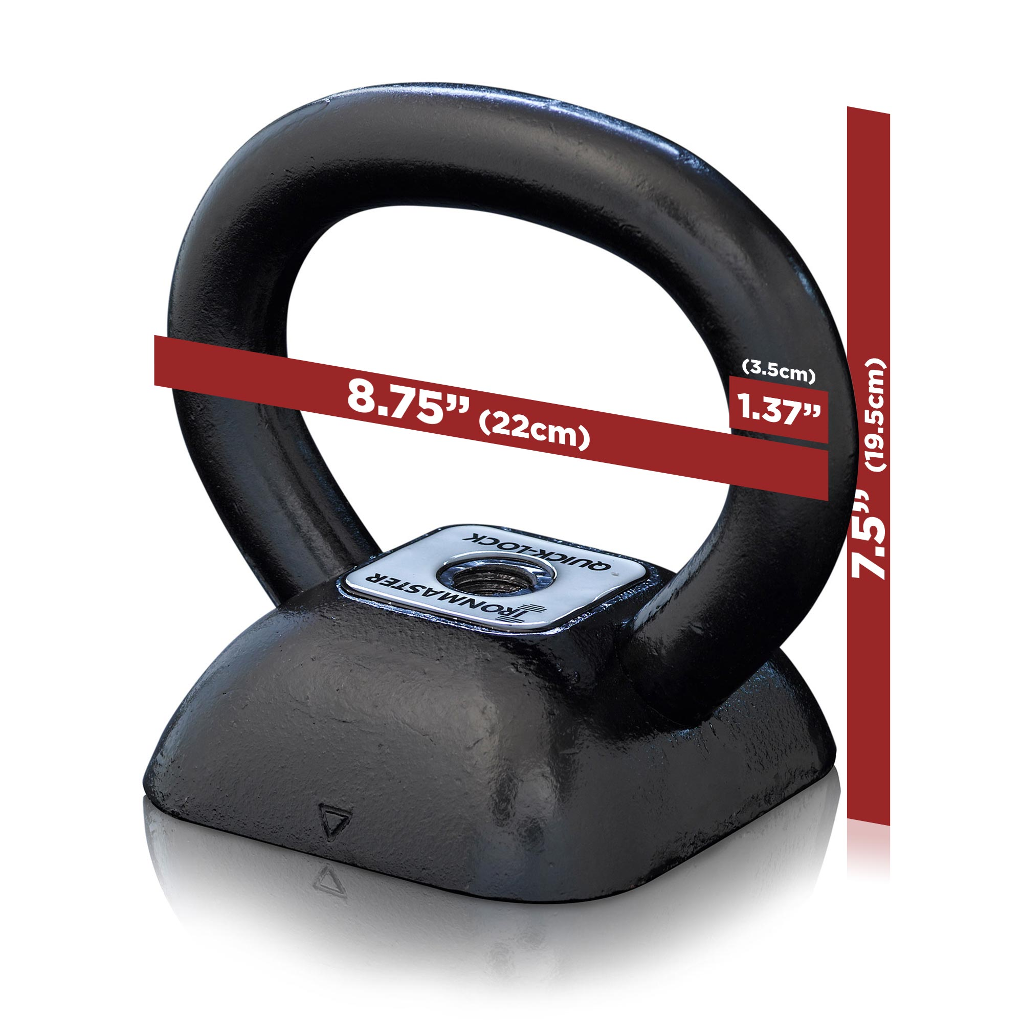 IronmasterUK Adjustable Kettlebell Specifications