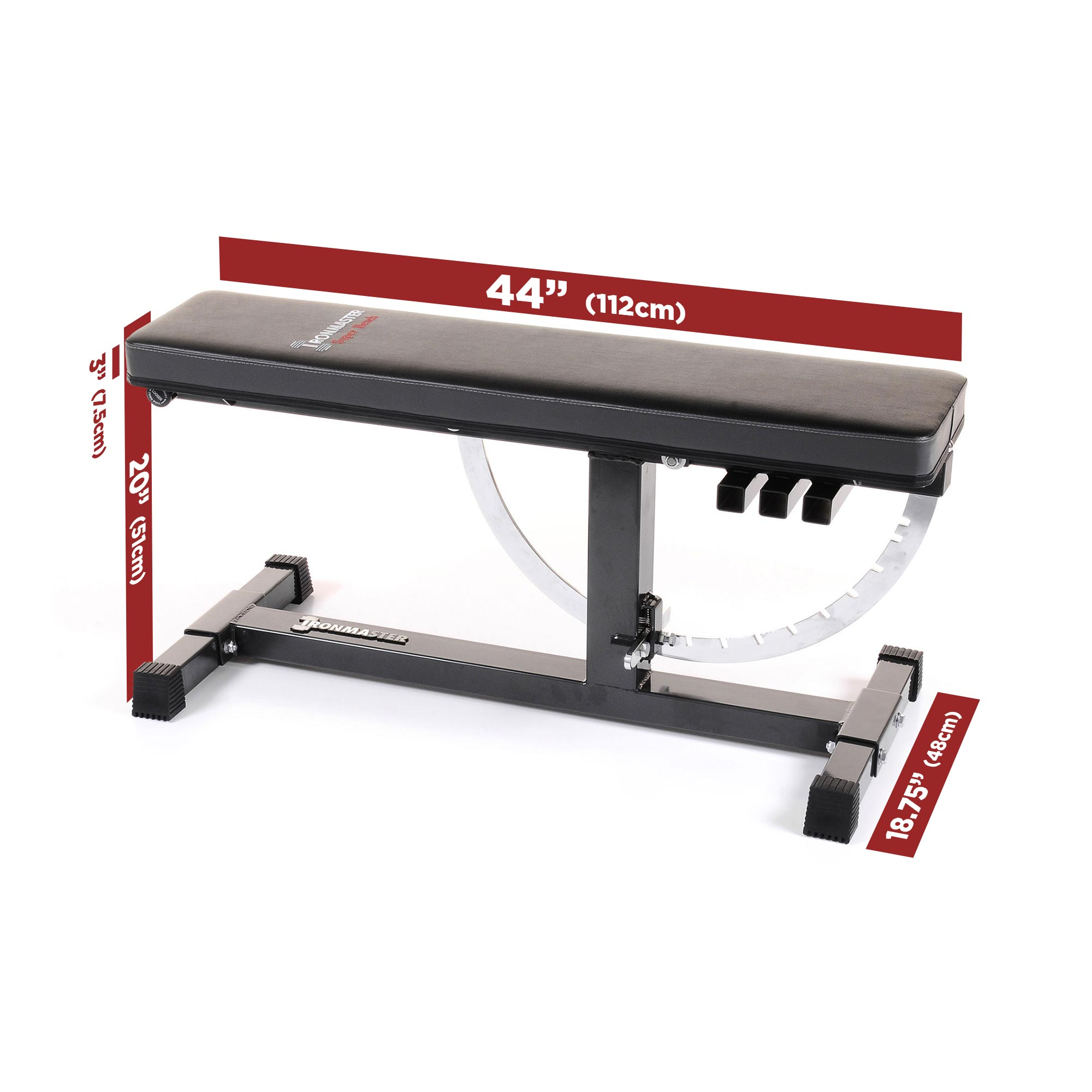 IronmasterUK Super Bench Size Specifications
