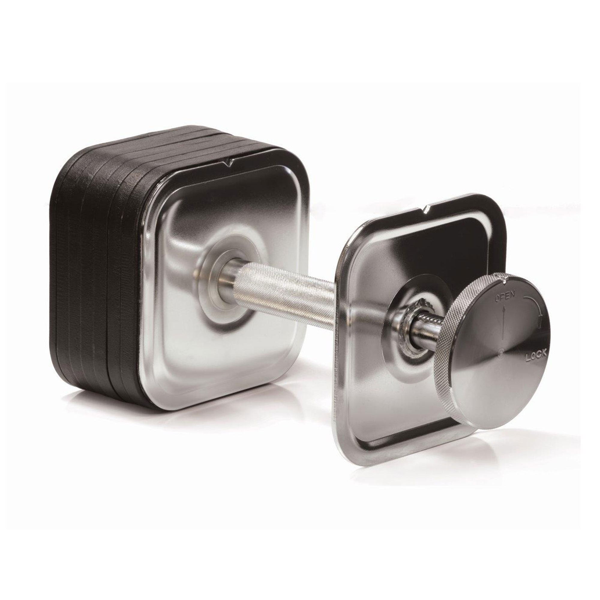 IronmasterUK quick-lock dumbbell half full