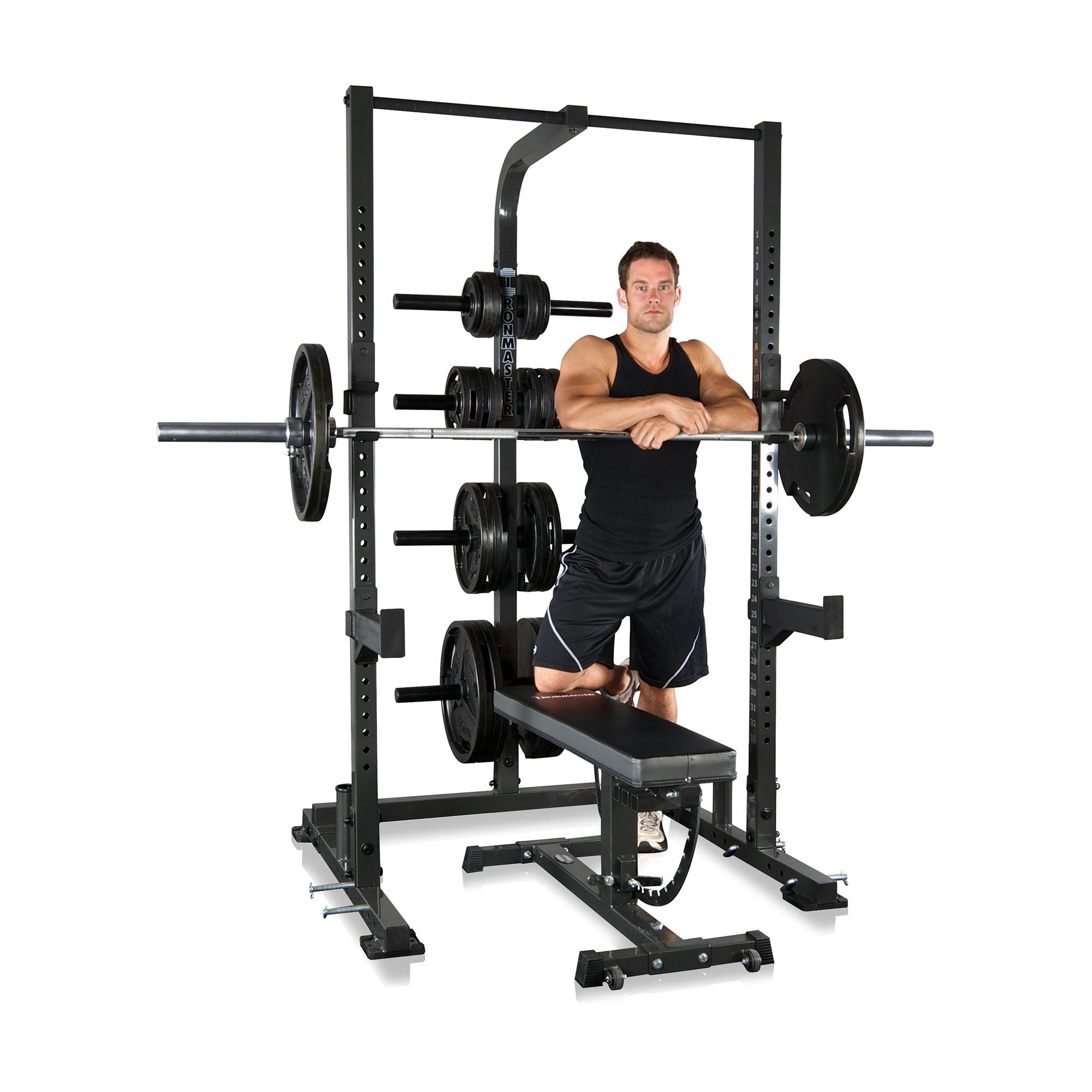 IronmasterUK IM1500 half rack