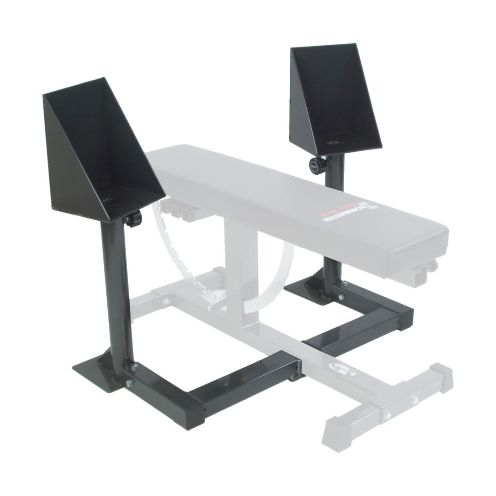 Ironmaster Adjustable Dumbbells Used: Spotting Stand
