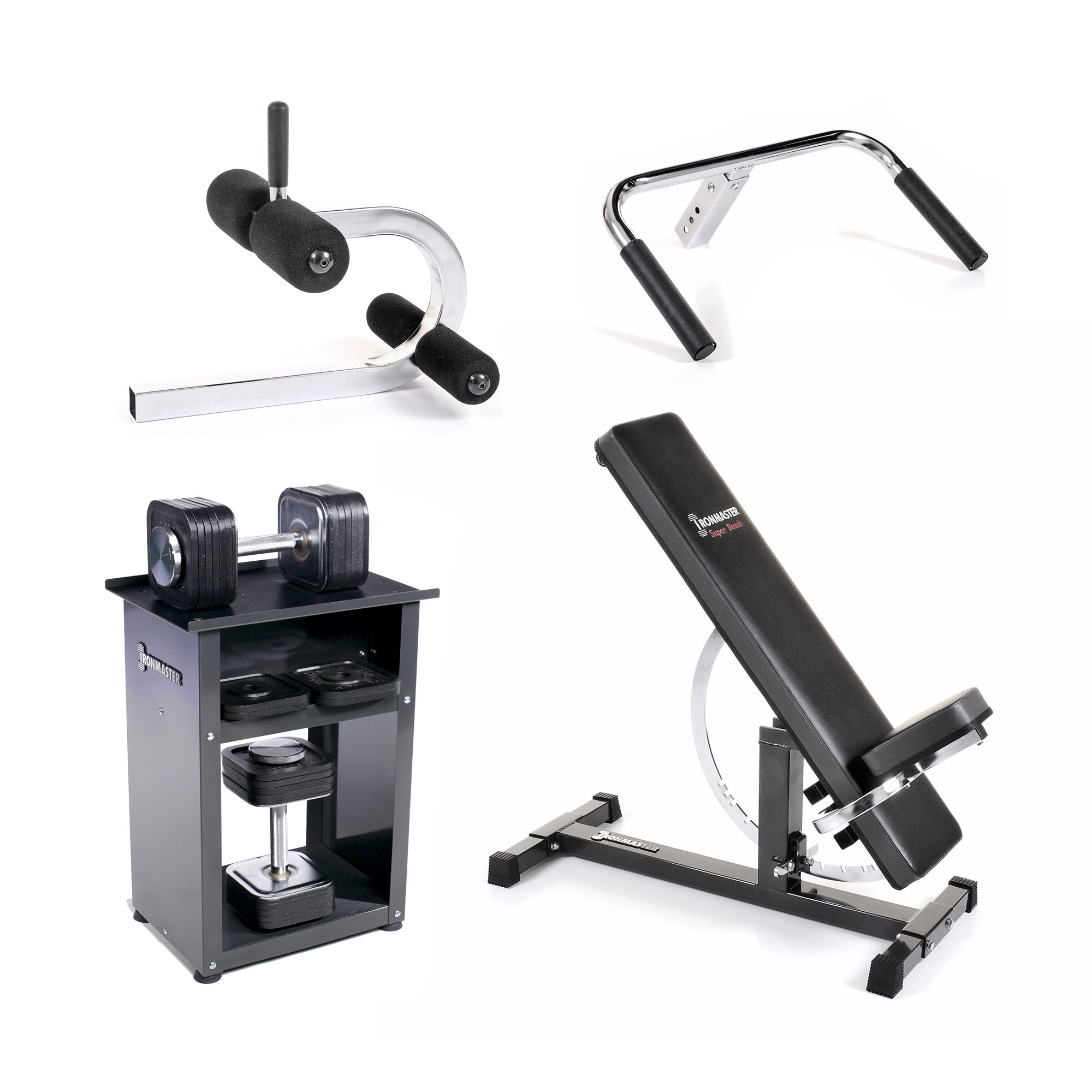 Package the compact home gym u ironmaster uk