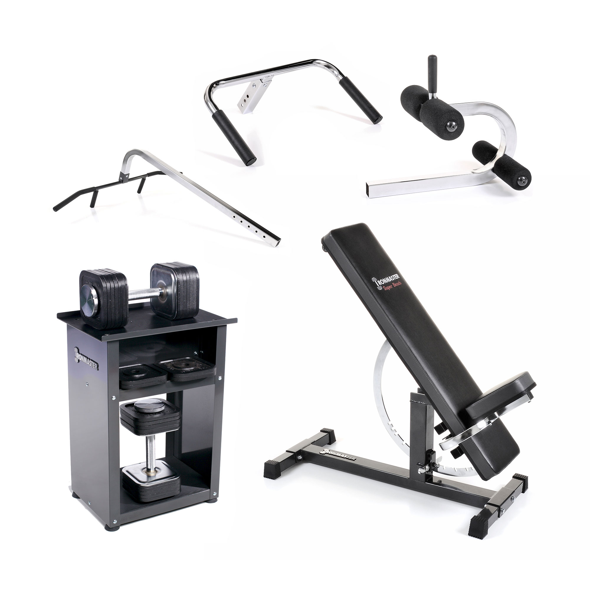Package 3 the standard home gym u2013 ironmaster uk