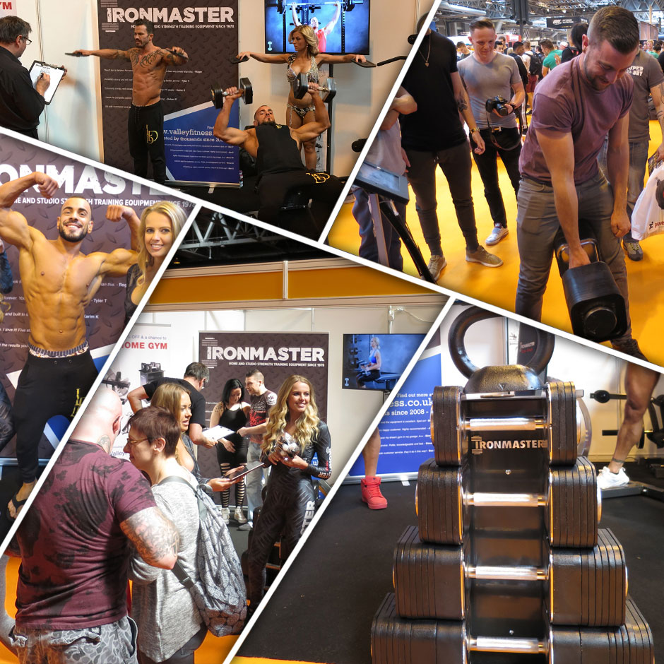 Valley Fitness exhibit at BodyPower, Birmingham, UK and the SFN Expo, Glasgow, UK