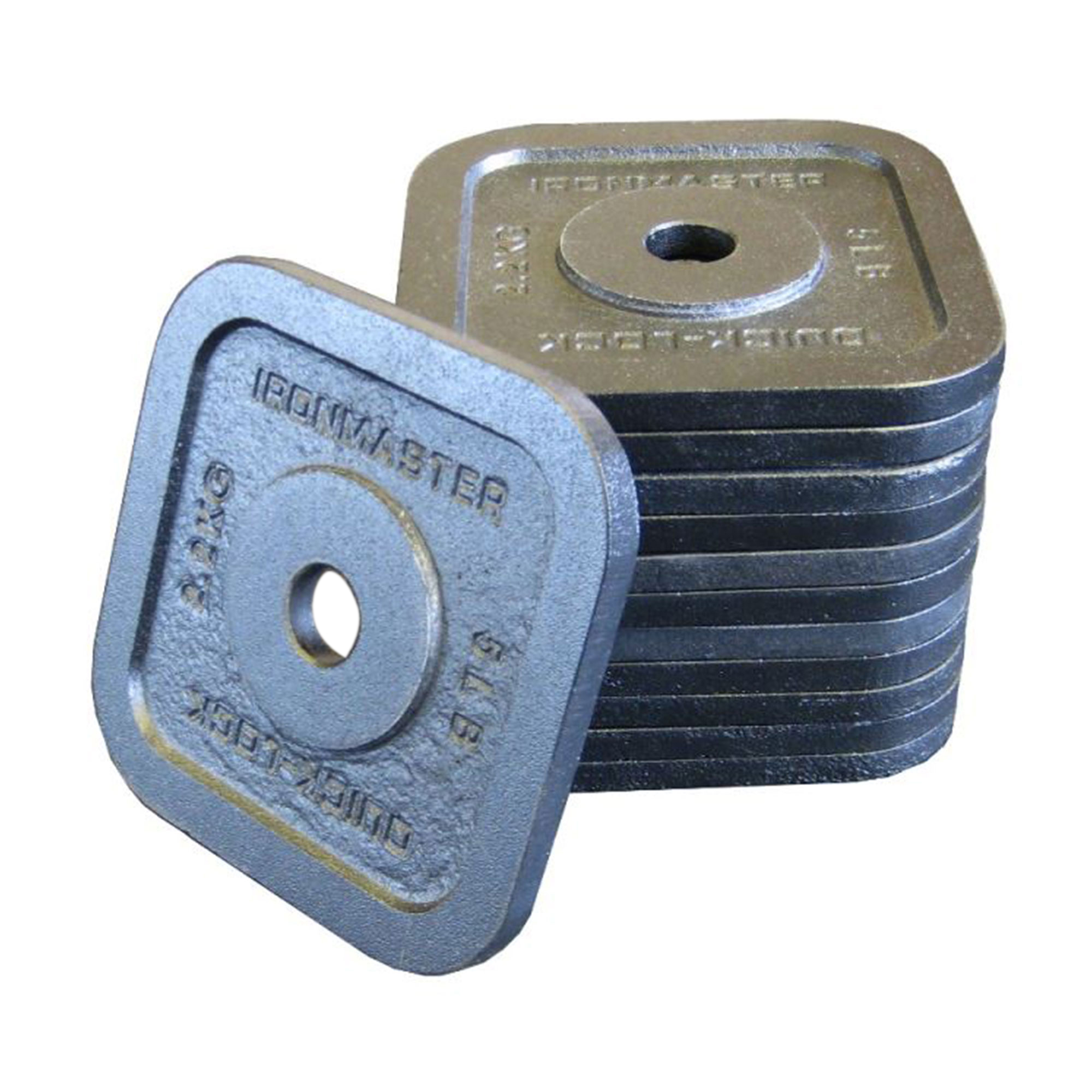 Ironmaster Adjustable Dumbbells Used: 75 Lbs (34 Kg) Quick-Lock Dumbbell Upgrade Kit